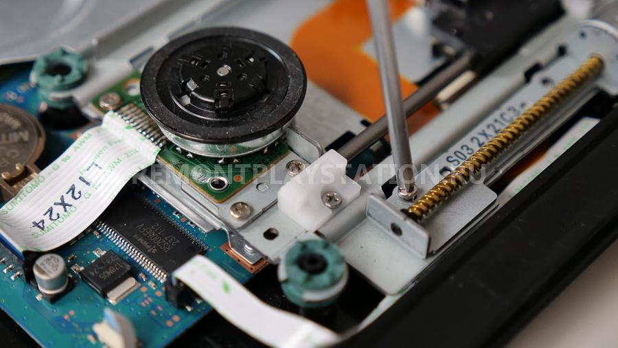 ремонт привода ps2