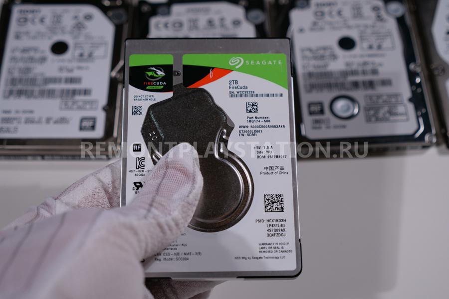 увеличить жесткий диск ps4