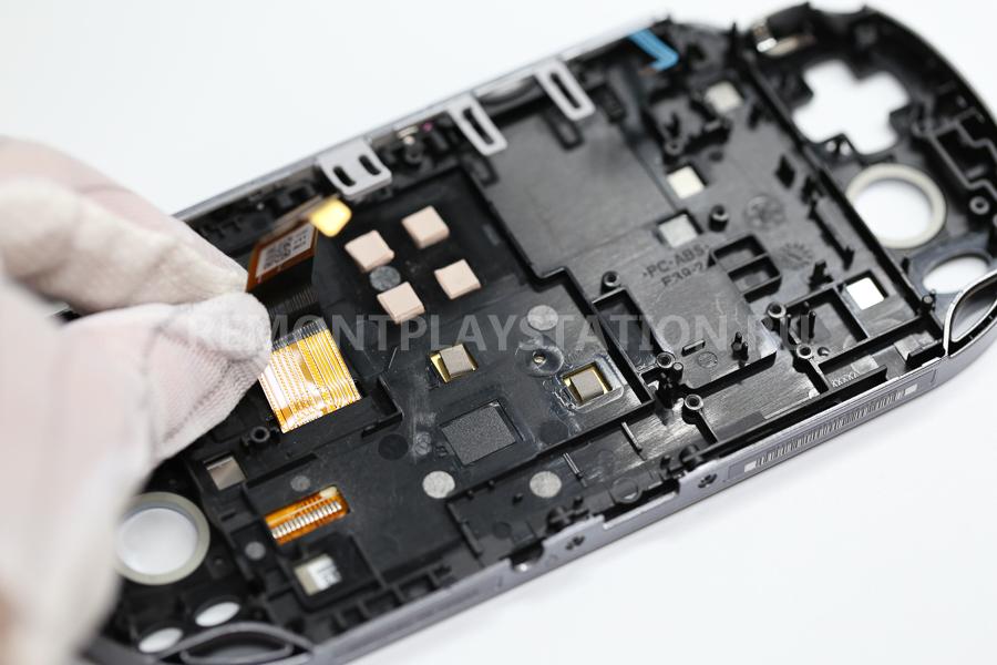 замена LCD дисплея psvita