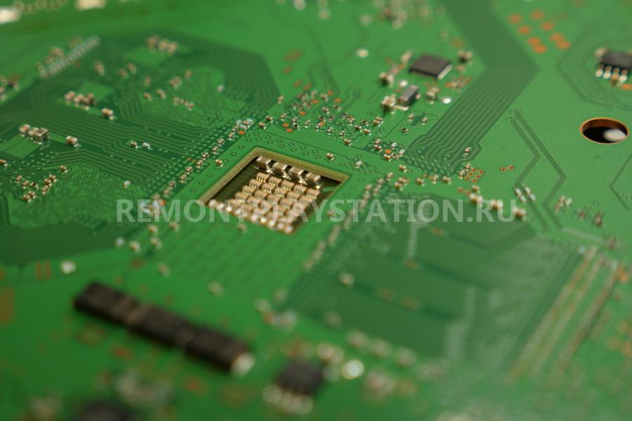 Замена SMD компонентов PS3
